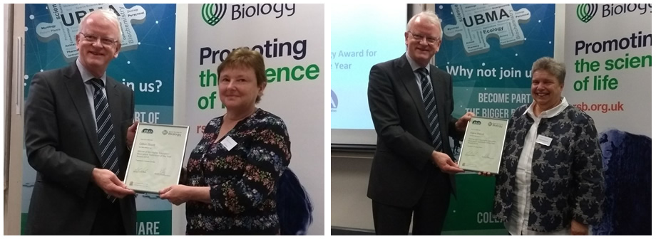 RSB & UBMA HE Bioscience Technician of the Year